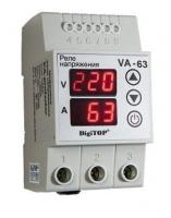 Реле напряж. с контролем тока VA-63А Digitop 63А 220в