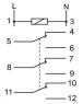 Реле промежуточное PK-3P/12V